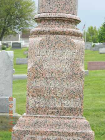CROW, LAWRENCE - Holmes County, Ohio | LAWRENCE CROW - Ohio Gravestone Photos