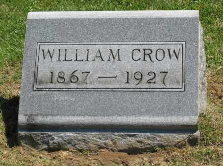 CROW, WILLIAM - Holmes County, Ohio | WILLIAM CROW - Ohio Gravestone Photos