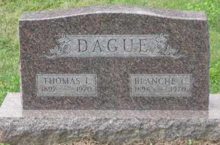 DAGUE, BLANCHE C. - Holmes County, Ohio | BLANCHE C. DAGUE - Ohio Gravestone Photos