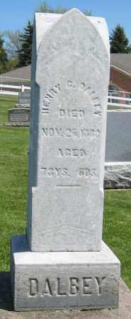 DALBEY, HENRY C. - Holmes County, Ohio | HENRY C. DALBEY - Ohio Gravestone Photos