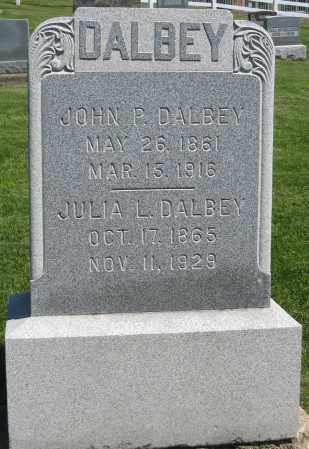 DALBEY, JULIA L. - Holmes County, Ohio | JULIA L. DALBEY - Ohio Gravestone Photos