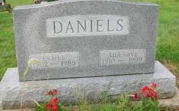DANIELS, ELMER - Holmes County, Ohio | ELMER DANIELS - Ohio Gravestone Photos