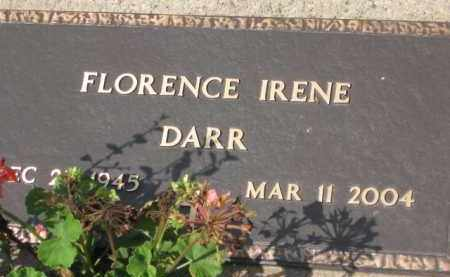 DARR, FLORENCE IRENE - Holmes County, Ohio | FLORENCE IRENE DARR - Ohio Gravestone Photos