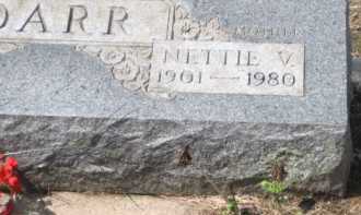 DARR, NETTIE V. - Holmes County, Ohio | NETTIE V. DARR - Ohio Gravestone Photos