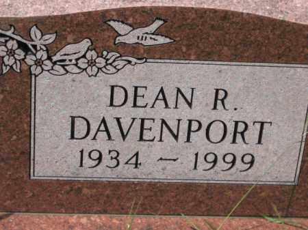 DAVENPORT, DEAN R. - Holmes County, Ohio | DEAN R. DAVENPORT - Ohio Gravestone Photos