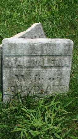 DEATZ, MAGDALENA - Holmes County, Ohio | MAGDALENA DEATZ - Ohio Gravestone Photos