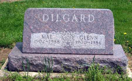 DILGARD, MAE - Holmes County, Ohio | MAE DILGARD - Ohio Gravestone Photos