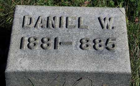 DRUSHEL, DANIEL W. - Holmes County, Ohio | DANIEL W. DRUSHEL - Ohio Gravestone Photos