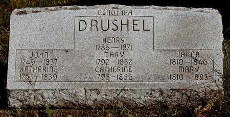 WEIMER DRUSHEL, MARY - Holmes County, Ohio | MARY WEIMER DRUSHEL - Ohio Gravestone Photos