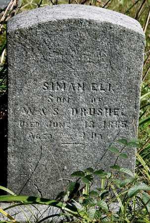 DRUSHEL, SIMAN ELI - Holmes County, Ohio | SIMAN ELI DRUSHEL - Ohio Gravestone Photos