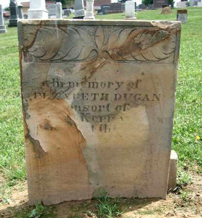 DUGAN, ELIZABETH - Holmes County, Ohio | ELIZABETH DUGAN - Ohio Gravestone Photos