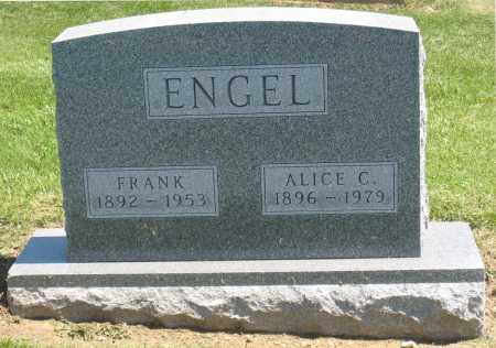 ENGEL, FRANK - Holmes County, Ohio | FRANK ENGEL - Ohio Gravestone Photos
