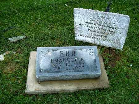 ERB, EMANUEL P - Holmes County, Ohio | EMANUEL P ERB - Ohio Gravestone Photos