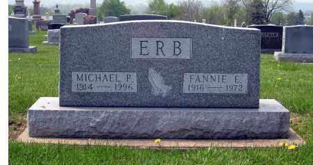ERB, FANNIE E. - Holmes County, Ohio | FANNIE E. ERB - Ohio Gravestone Photos