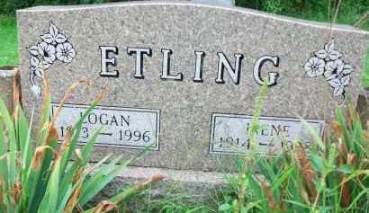 ETLING, LOGAN - Holmes County, Ohio | LOGAN ETLING - Ohio Gravestone Photos