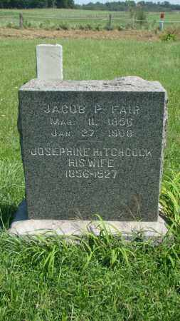 FAIR, JOSEPHINE - Holmes County, Ohio | JOSEPHINE FAIR - Ohio Gravestone Photos