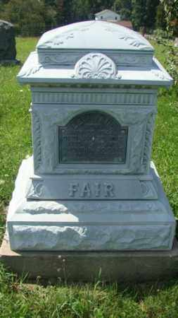 FAIR, LEVI - Holmes County, Ohio | LEVI FAIR - Ohio Gravestone Photos