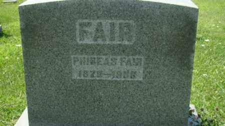 FAIR, PHINEAS - Holmes County, Ohio | PHINEAS FAIR - Ohio Gravestone Photos