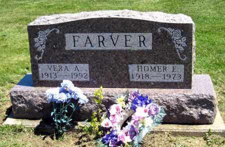FARVER, HOMER E. - Holmes County, Ohio | HOMER E. FARVER - Ohio Gravestone Photos