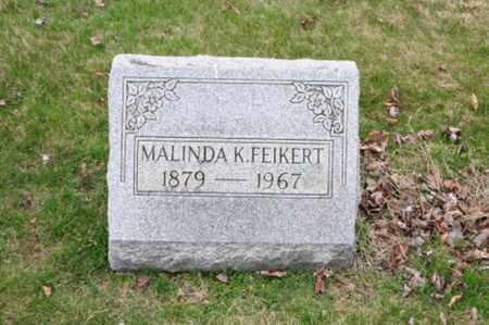 ARNOLD FEIKERT, MALINDA K. - Holmes County, Ohio | MALINDA K. ARNOLD FEIKERT - Ohio Gravestone Photos