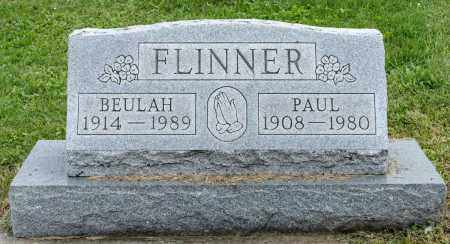 SOMMERS FLINNER, BEULAH - Holmes County, Ohio | BEULAH SOMMERS FLINNER - Ohio Gravestone Photos
