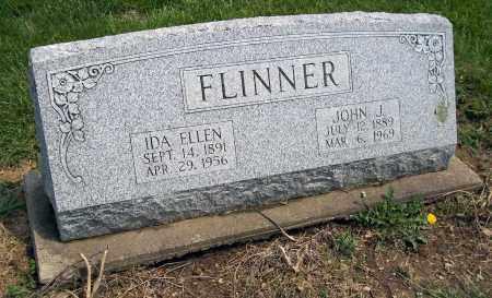 FLINNER, IDA ELLEN - Holmes County, Ohio | IDA ELLEN FLINNER - Ohio Gravestone Photos