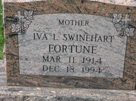 SWINEHART FORTUNE, IVA L. - Holmes County, Ohio | IVA L. SWINEHART FORTUNE - Ohio Gravestone Photos
