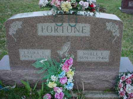 FORTUNE, LAURA E - Holmes County, Ohio | LAURA E FORTUNE - Ohio Gravestone Photos