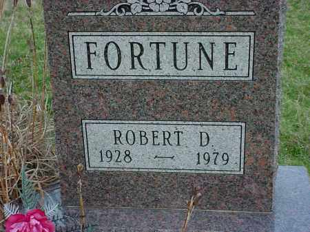 FORTUNE, ROBERT D - Holmes County, Ohio | ROBERT D FORTUNE - Ohio Gravestone Photos