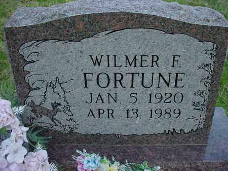 FORTUNE, WILMER F - Holmes County, Ohio | WILMER F FORTUNE - Ohio Gravestone Photos