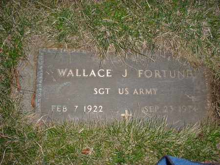 FORTUNE, WALLACE J - Holmes County, Ohio | WALLACE J FORTUNE - Ohio Gravestone Photos