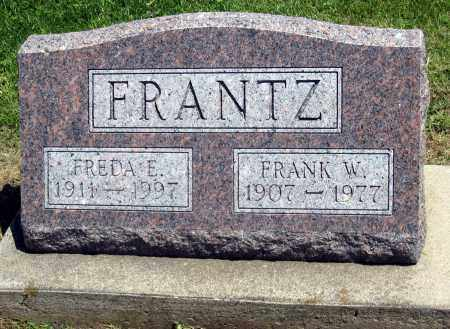 W FRANTZ, FRANK - Holmes County, Ohio | FRANK W FRANTZ - Ohio Gravestone Photos