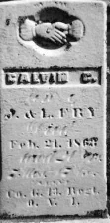 FRY, CALVIN C - Holmes County, Ohio | CALVIN C FRY - Ohio Gravestone Photos