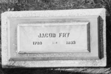 FRY, JACOB - Holmes County, Ohio | JACOB FRY - Ohio Gravestone Photos