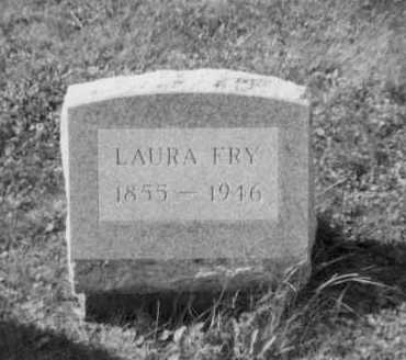 FRY, LAURA - Holmes County, Ohio | LAURA FRY - Ohio Gravestone Photos