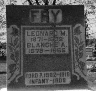 FRY, INFANT - Holmes County, Ohio | INFANT FRY - Ohio Gravestone Photos