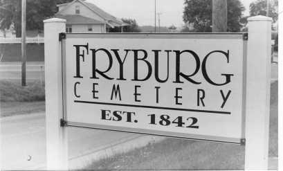 FRYBURG, CEMETERY - Holmes County, Ohio | CEMETERY FRYBURG - Ohio Gravestone Photos