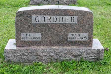 GARDNER, ALTA - Holmes County, Ohio | ALTA GARDNER - Ohio Gravestone Photos