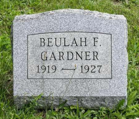 GARDNER, BEULAH FAY - Holmes County, Ohio | BEULAH FAY GARDNER - Ohio Gravestone Photos