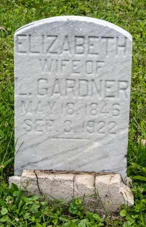 GARDNER, ELIZABETH - Holmes County, Ohio | ELIZABETH GARDNER - Ohio Gravestone Photos