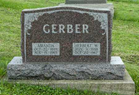 GERBER, HERBERT W. - Holmes County, Ohio | HERBERT W. GERBER - Ohio Gravestone Photos