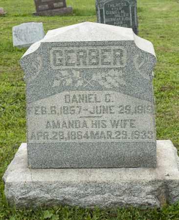 PRISTER GERBER, AMANDA - Holmes County, Ohio | AMANDA PRISTER GERBER - Ohio Gravestone Photos