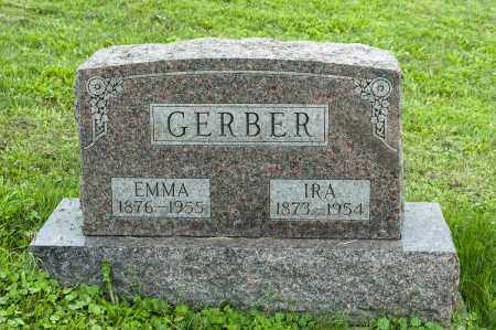 CRILOW GERBER, EMMA - Holmes County, Ohio | EMMA CRILOW GERBER - Ohio Gravestone Photos