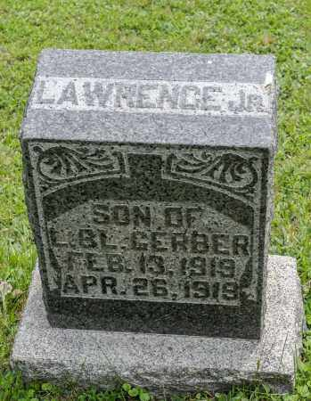 GERBER, LAWRENCE  JR. - Holmes County, Ohio | LAWRENCE  JR. GERBER - Ohio Gravestone Photos