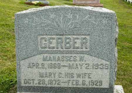 GERBER, MANASSES W. - Holmes County, Ohio | MANASSES W. GERBER - Ohio Gravestone Photos