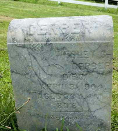 GERBER, WESLEY C. - Holmes County, Ohio | WESLEY C. GERBER - Ohio Gravestone Photos