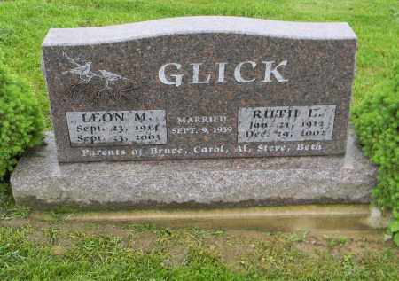 GLICK, RUTH L. - Holmes County, Ohio | RUTH L. GLICK - Ohio Gravestone Photos
