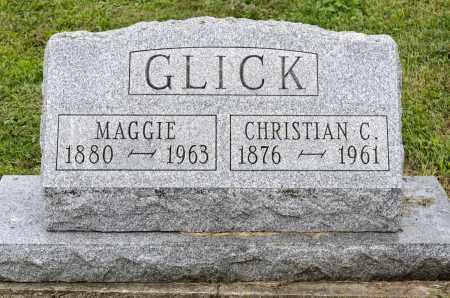 GLICK, MAGGIE - Holmes County, Ohio | MAGGIE GLICK - Ohio Gravestone Photos