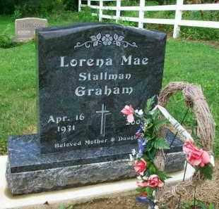 GRAHAM, LORENA MAE - Holmes County, Ohio | LORENA MAE GRAHAM - Ohio Gravestone Photos