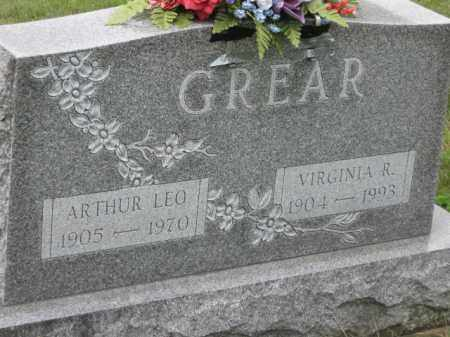 GREAR, ARTHUR LEO - Holmes County, Ohio | ARTHUR LEO GREAR - Ohio Gravestone Photos